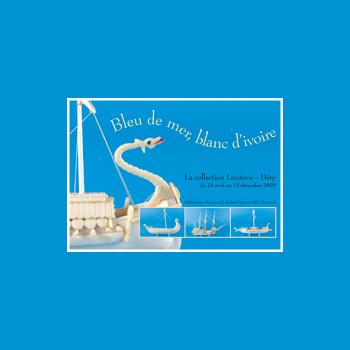 Bleu de mer, blanc d'ivoire