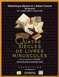 Quatre siècles livres minuscules