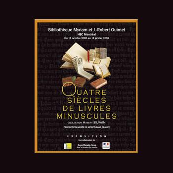 Quatre siècles de livres minuscules : Collection Hubert Silvain