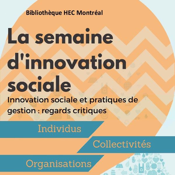 Semaine d'innovation sociale