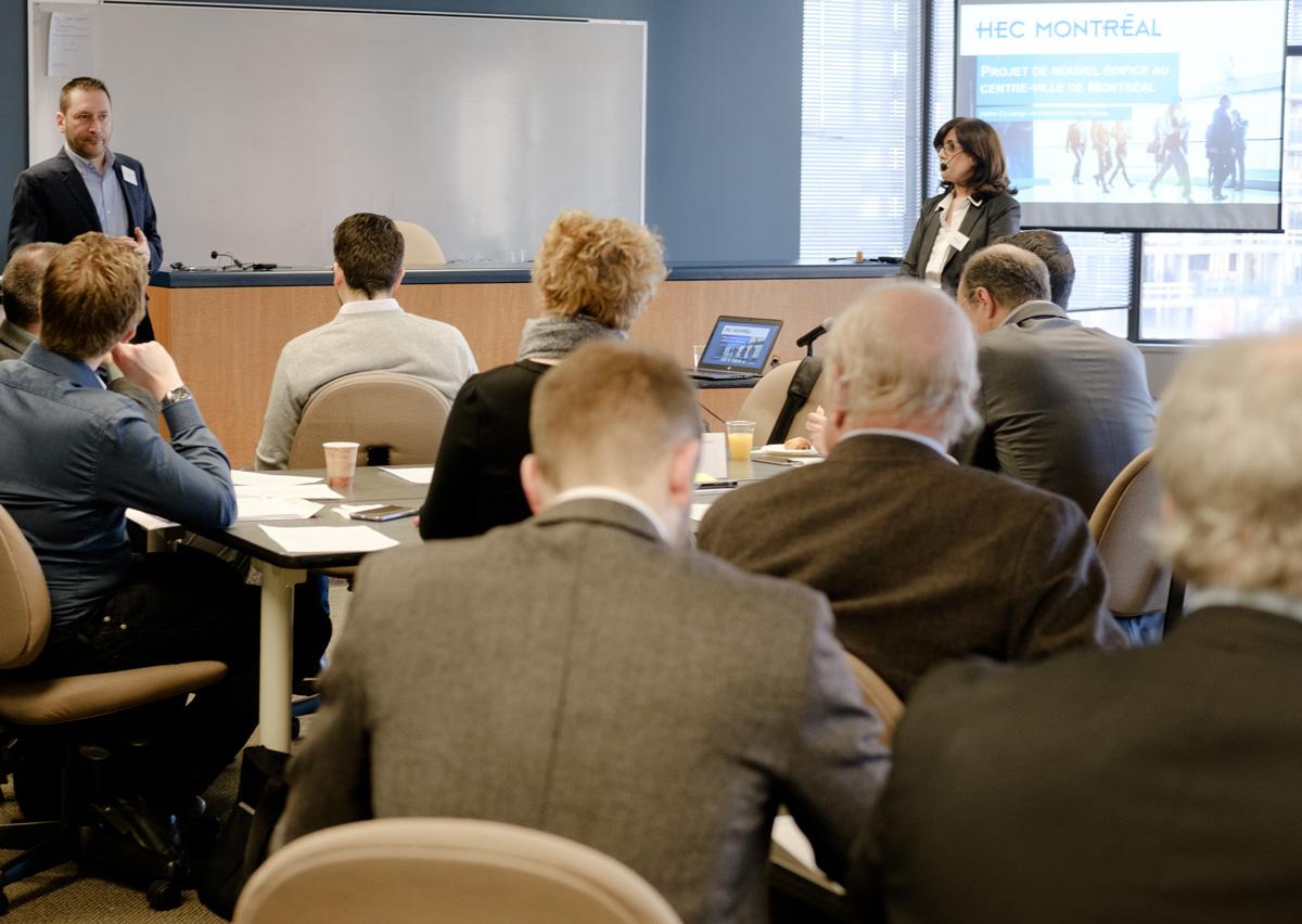 Participants à l'atelier de codesign du 31 janvier 2017