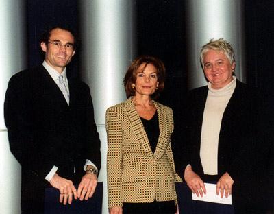 Photo: remise du prix Alma-Lepage 2002