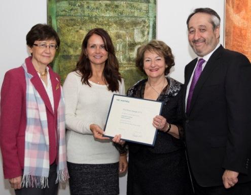 photo: remise du prix Alma-Lepage 2013