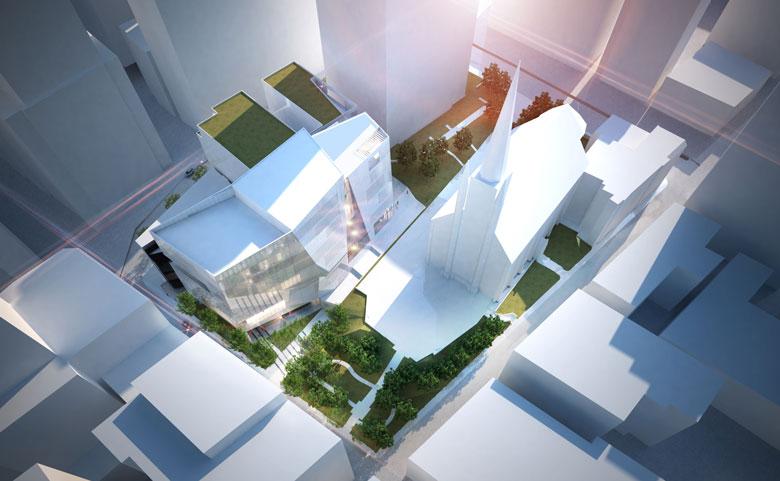 vue-aerienne-edifice-centre-ville