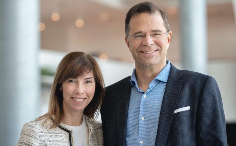 Éric Morisset et Claire Archambault