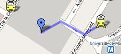 Detail of Google map