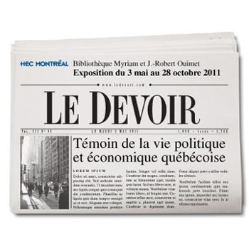 Le Devoir : témoin de la vie politique et économique québécoise