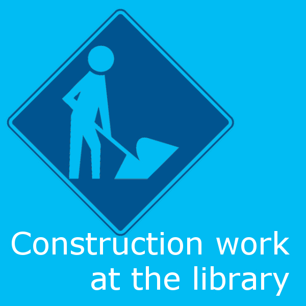 Construction work at the library
