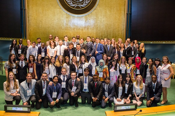 Elodie Girvs Is A Winner In The United Nations Essay Competition  All The Winners Of The International Competition Photos United Nations
