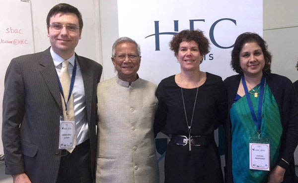 Le Pôle IDEOS de HEC Montréal accueillera un Centre d'entreprise sociale Yunus