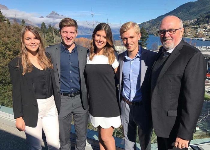 Des étudiants du B.A.A. enlèvent la 1re place en Nouvelle-Zélande