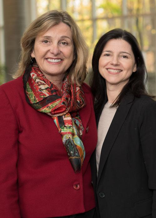 Sylvie St-Onge et Corinne Prost
