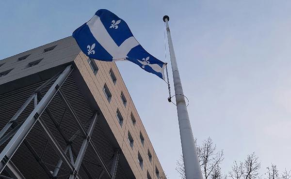 HEC Monréal a mis ses drapeaux en berne.