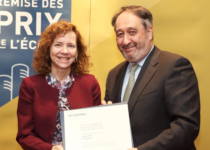 Line Dubé pour Jacques Roy et Léo Vicenti