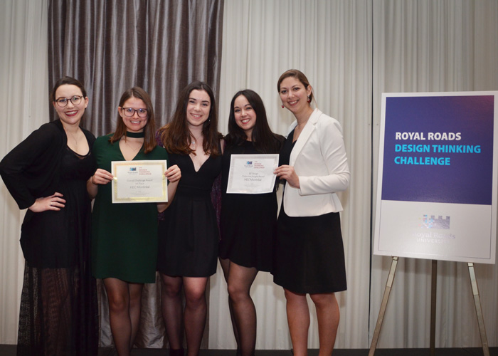 Hec Montreal Wins The Royal Roads Design Thinking Challenge News Hec Montreal