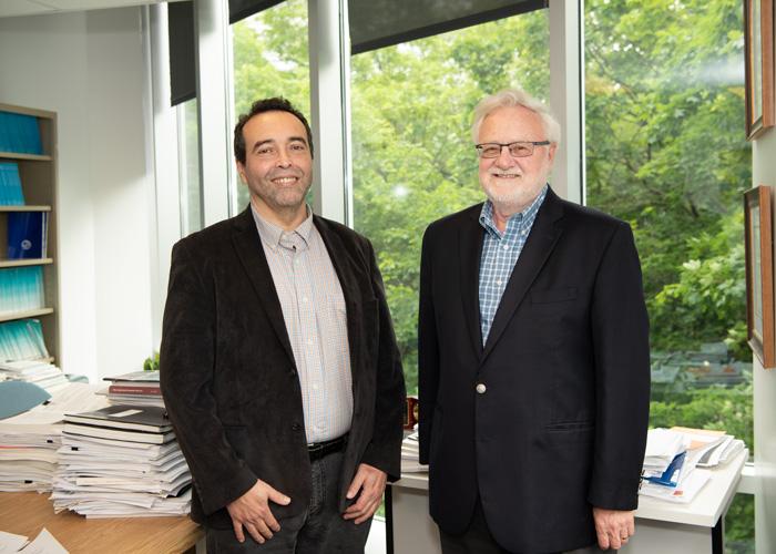 Samir Saissi Hassani et Georges Dionne