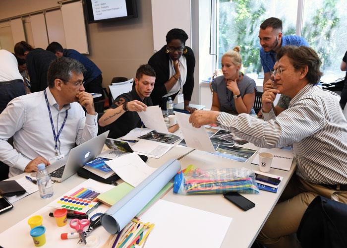 Interactive workshop during the 2018 Summer School.