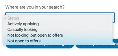 LinkedIn - Recherche d'emploi