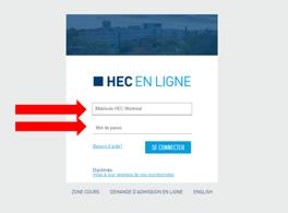 HEC en ligne - Application Step 1 - FR