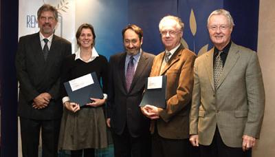 Carmen Bernier, Line Dubé et Vital Roy