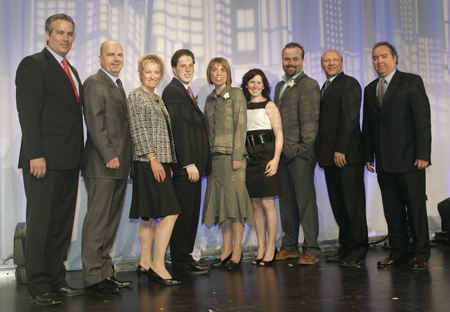 Photo des lauréats de la 24e édition du prix Relève d'excellence 2009