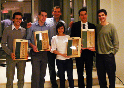 Amaury Séchaud, Member of the McKinsey Challenge Winning