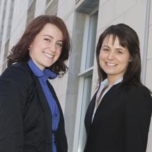 Andrée Lavoie et Valérie Gagné-Rousseau