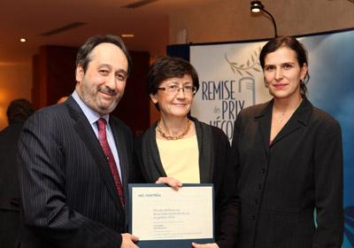 Alix Mandron, lauréate 2010