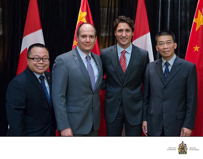 L'Accélérateur Banque Nationale – HEC Montréal et le Shanghai Caohejing Hi-Tech Park Innovation Center (CHJ) ont signé un accord de partenariat.