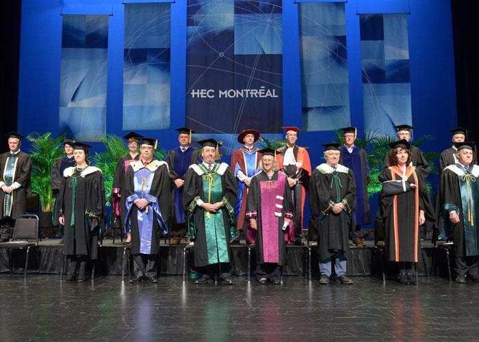 ceremonie remise diplome hec