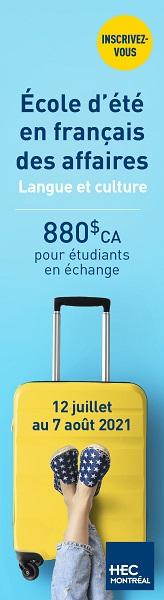 École d'été en français des affaires (EEFA)
